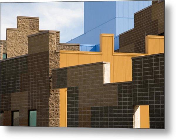 Modern Architecture 2 Metal Print by Steve Ohlsen