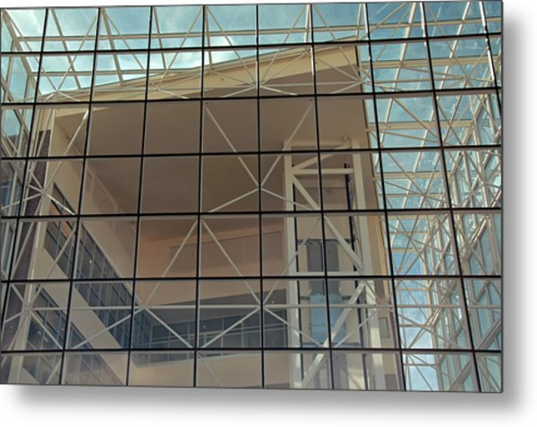 Modern Architecture 8 Metal Print by Steve Ohlsen