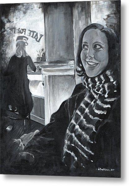 Mona Sandra  Metal Print