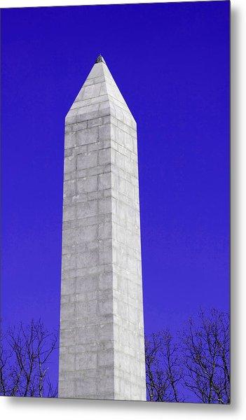 Monument Blue Metal Print by Tina B Hamilton