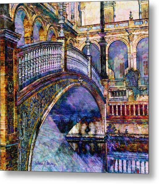 Moorish Bridge Metal Print