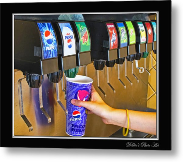 More Ice Please Metal Print