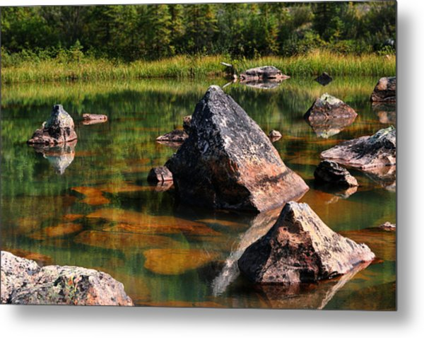 More Pink Rocks Metal Print