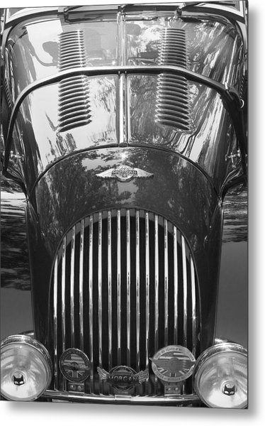 Morgan Plus 8 Metal Print by Alan Raasch