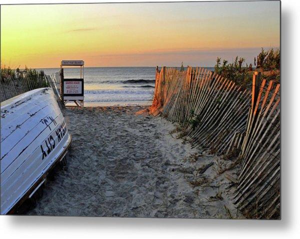 Morning At The Beach Metal Print
