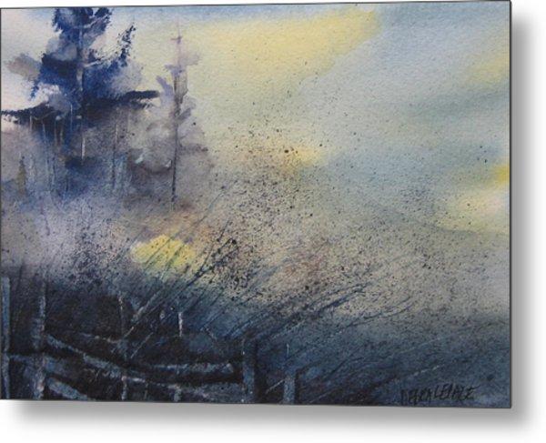 Morning Mist Metal Print by Debra LePage
