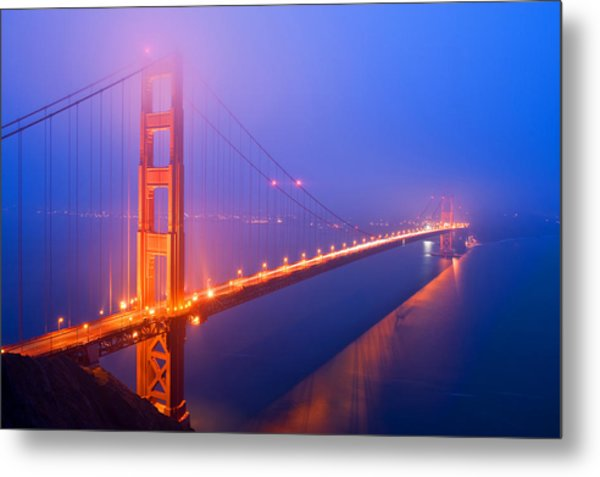 Morning Mysteries Metal Print