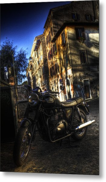 Moto 2 Metal Print by Brian Thomson