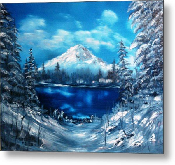 Mount Hood - Opus 2 Metal Print