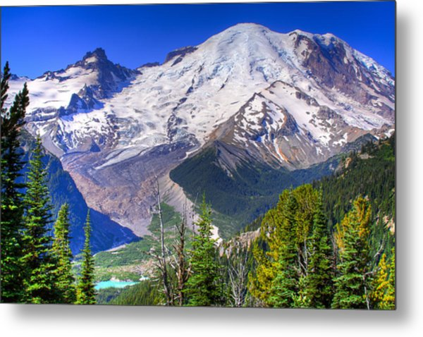 Mount Rainier IIi Metal Print