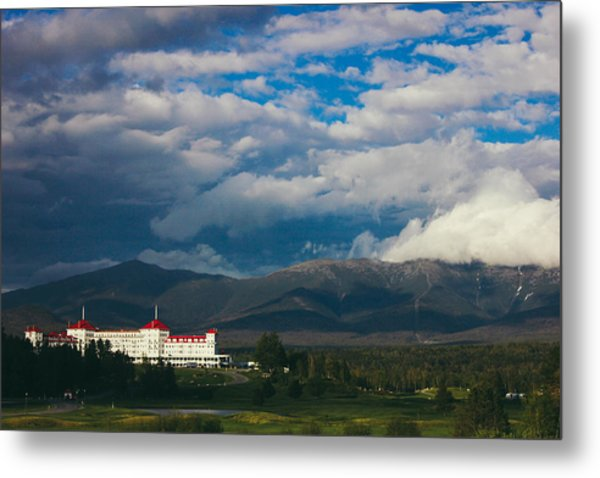 Mount Washington And The Presidential Mountain Range Of New Hampshire Metal Print