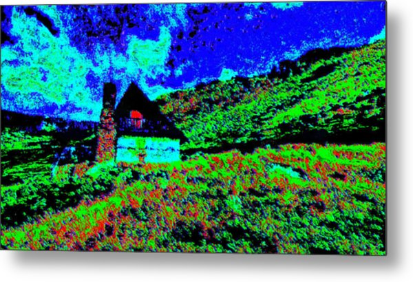 Mountain House Dd3 Metal Print by Modified Image