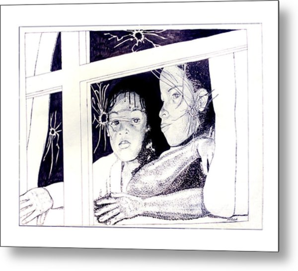Mourning After Metal Print