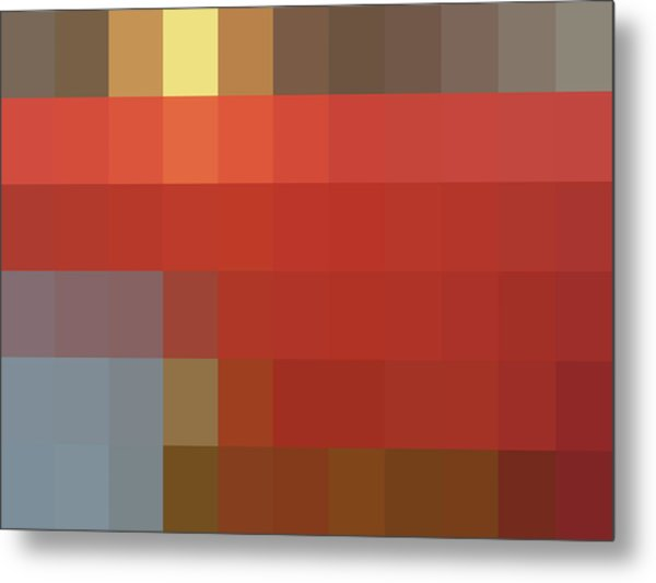 Mpliance To Nch - Context Series - Limited Run Metal Print by Lars B Amble