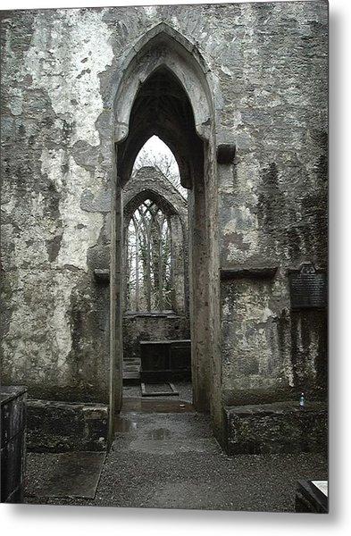 Muckross Abbey Metal Print by William Thomas
