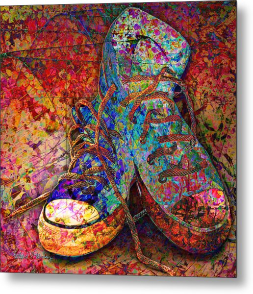 My Cool Sneakers Metal Print