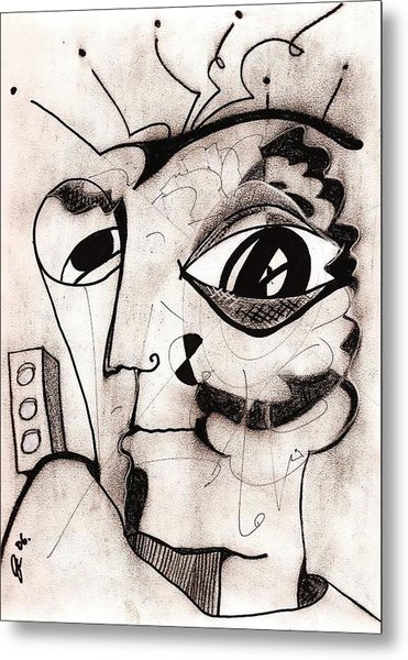 My Eye Is On You Metal Print by Jimmy King