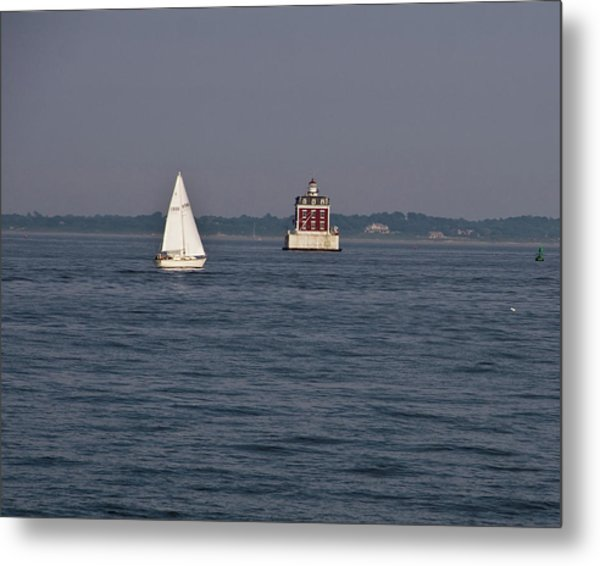 My Favorite Lighthouse Metal Print
