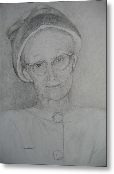 My Grandma Metal Print by Marlene Robbins