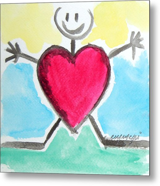 My Love For You Metal Print by Monica Palermo