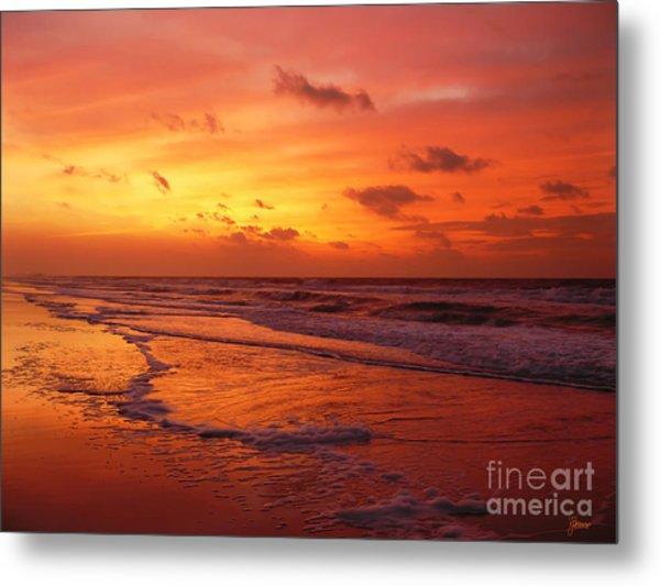 Myrtle Beach Sunrise II Metal Print