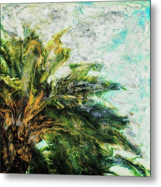 Mystical Palm Metal Print by Paul Tokarski