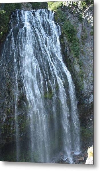 Narada Falls Metal Print by Jessa Morissey