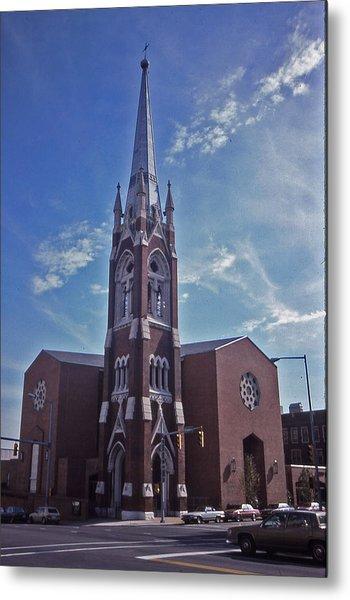 Nashville Church Metal Print by Randy Muir