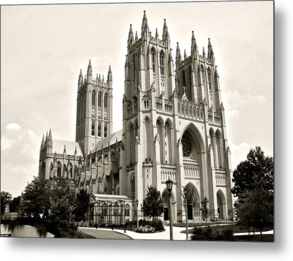National Cathedral In Washington Dc Metal Print