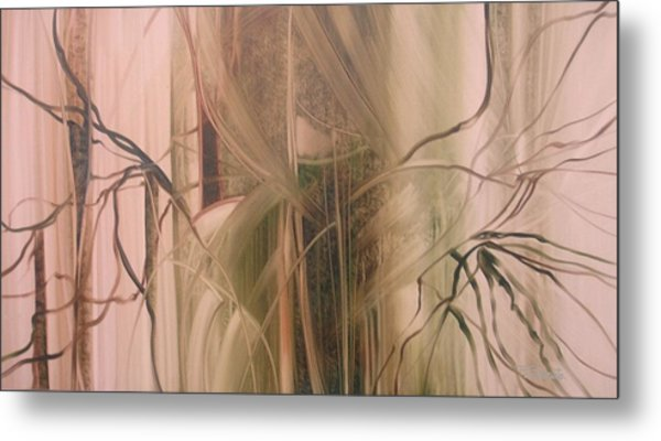 Nature's Cry Metal Print by Fatima Stamato