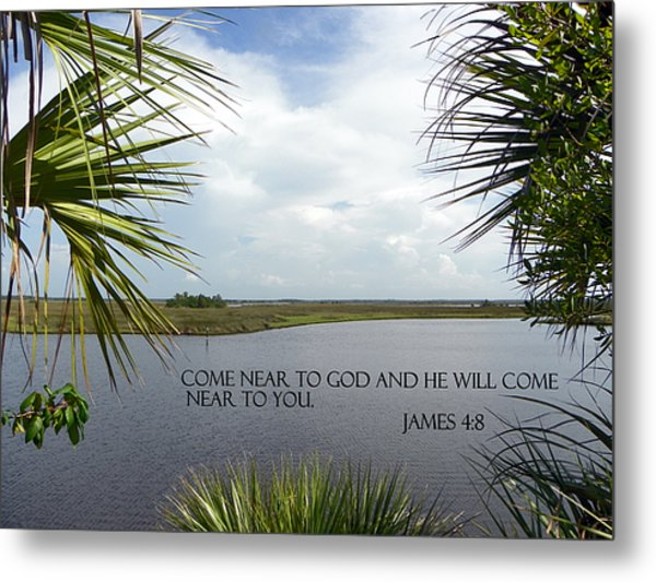 Near To God Metal Print