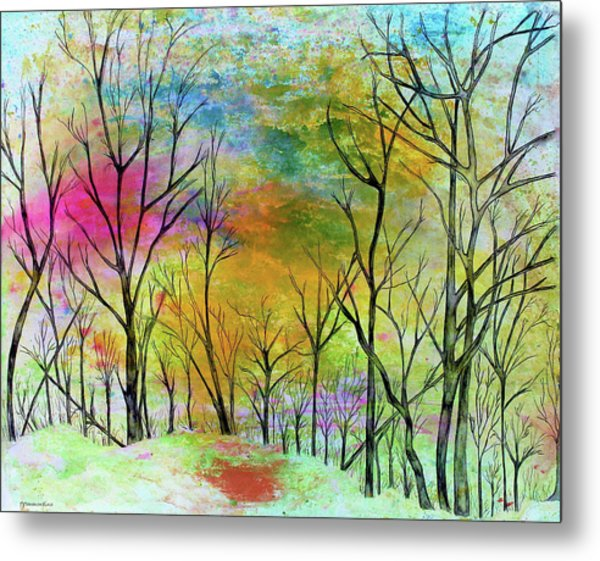 New Dawn New Day New Life Metal Print