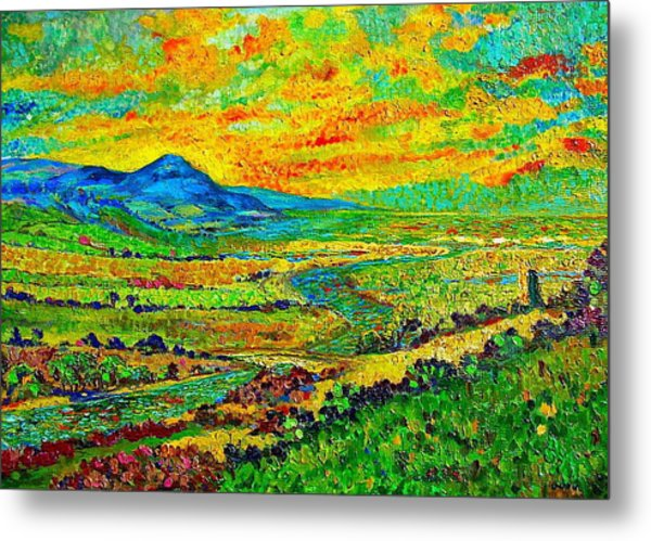 New Mexican Sunset Metal Print by Michael Durst