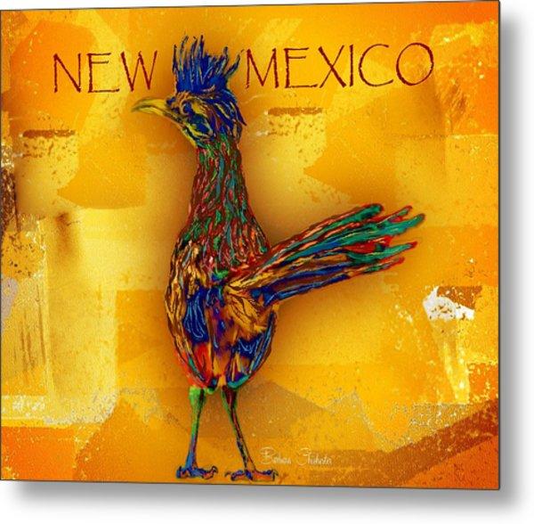New Mexico Roadrunner Metal Print