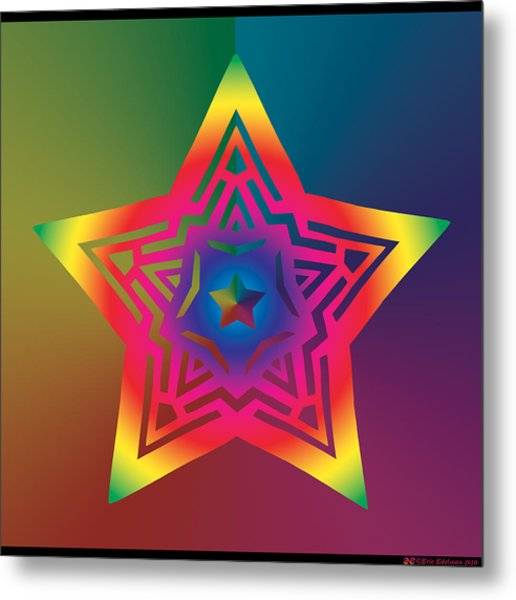 New Star 1a Metal Print