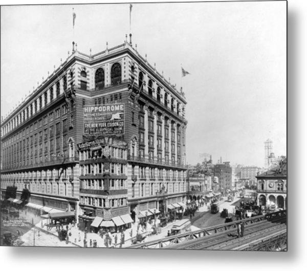 New York City. Macys Building Photograph By Everett