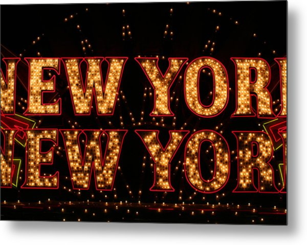 New York New York Metal Print by Jason Williams