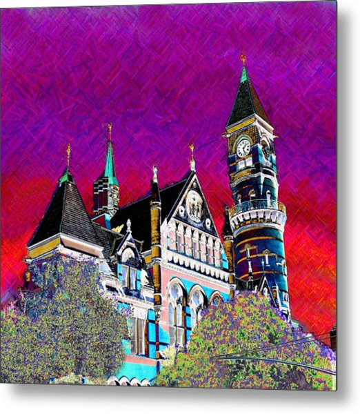 New York State Of Mind Metal Print by Howard Lancaster