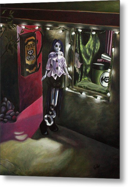 Night 1 Metal Print by Lori Keilwitz
