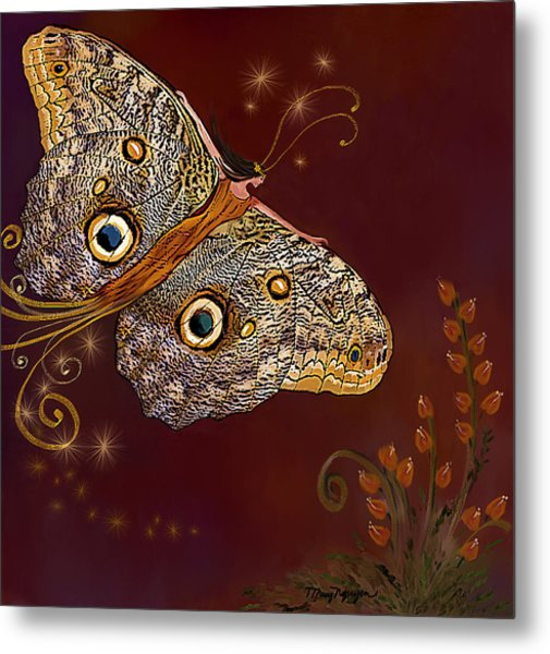 Night Butterfly  Metal Print