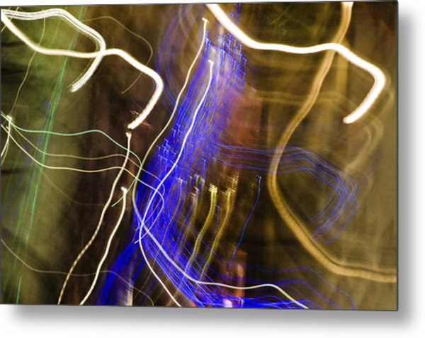 Night Lights 2 Metal Print by Layne Hardcastle