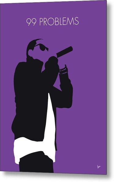 No101 My Jay-z Minimal Music Poster Metal Print