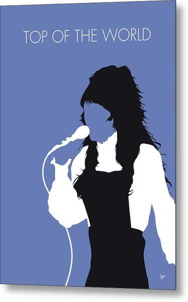 No148 My Carpenters Minimal Music Poster Metal Print