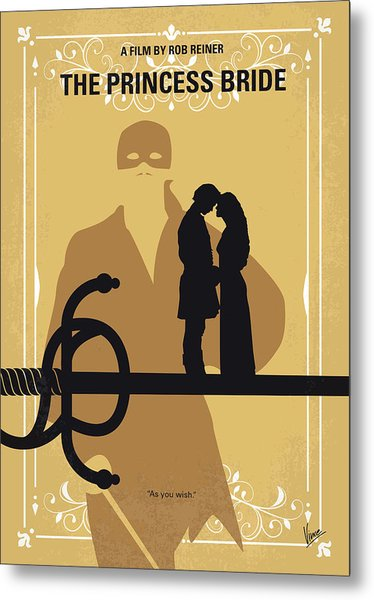 No877 My The Princess Bride Minimal Movie Poster Metal Print