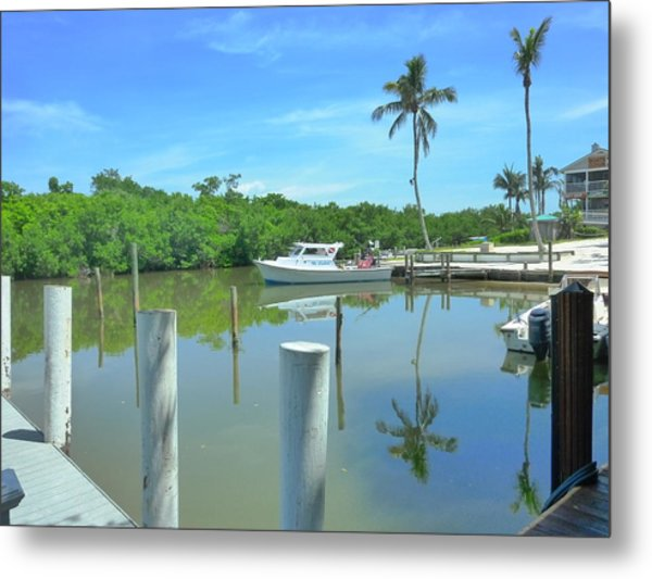North Captiva Charm Metal Print