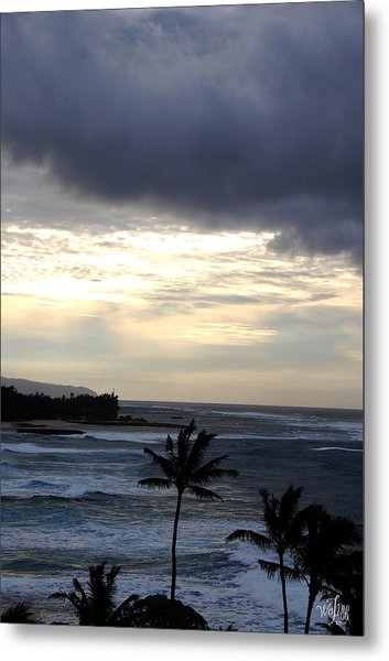 North Shore Morning Metal Print by Thea Wolff