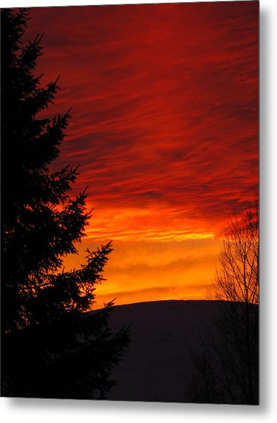 Northern Sunset 2 Metal Print