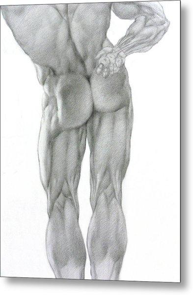 Nude 2b Metal Print