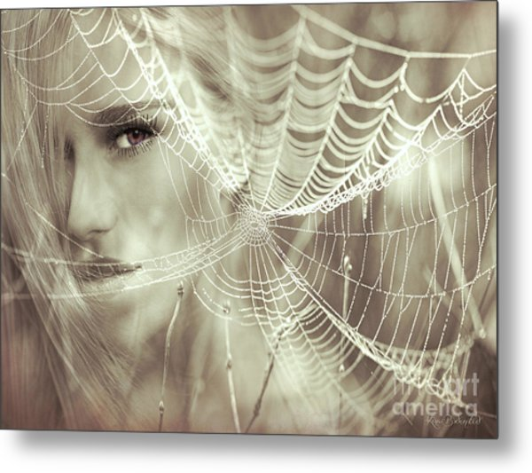 O, What A Tangled Web We Weave When First We Practise To Deceive Metal Print