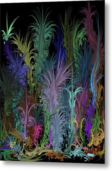 Octopus' Garden Metal Print by Russell Pierce